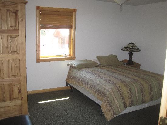 Almont Resort: Bedroom #1 upstairs in unit #22
