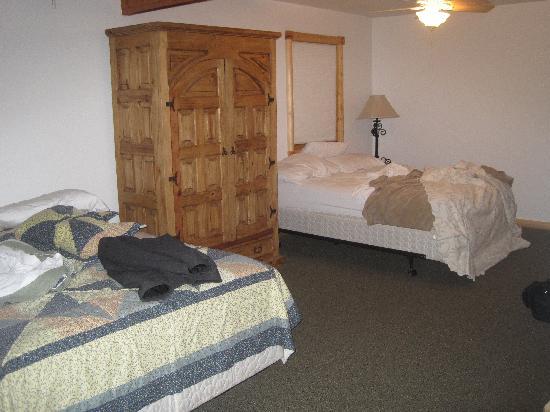 Almont Resort: Bedroom #2 upstairs in unit #22