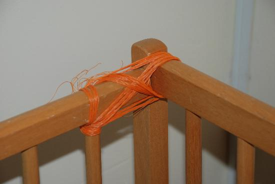 Seawinds B&B: Thank goodness Gerald was great at tying knots