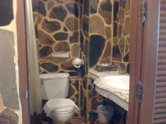 Tiger Inn: Toilet right beside