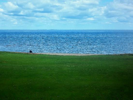 Breakers Resort - Lakeside : Room view of lawn and beach.