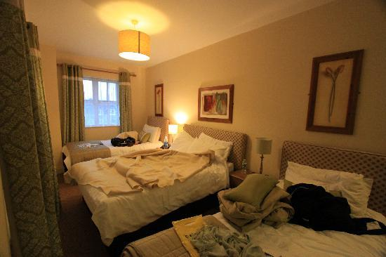 O'Donnabhain's Guesthouse B&B & Townhouses: Room #5 with 3 single beds