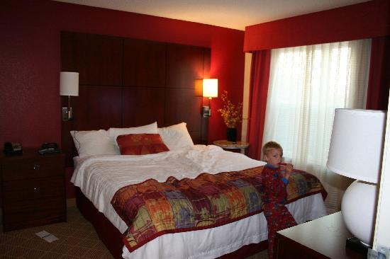 Residence Inn Paducah: Private bedroom was awesome!!