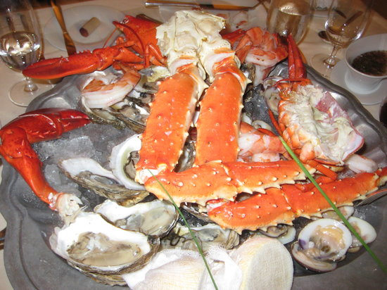Council Oak Steaks & Seafood : Seafood appetitzers
