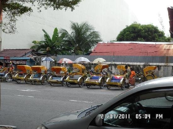 Hotel Continental: Trishaw rides