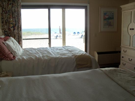 Sandbars on Cape Cod Bay: comfy beds