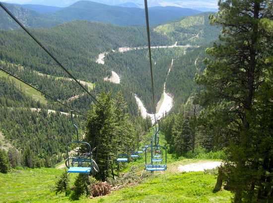 Missoula, MT: Snowbowl Chairlift