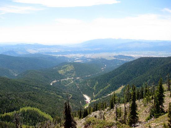 Montana Snowbowl: Gorgeous Views!