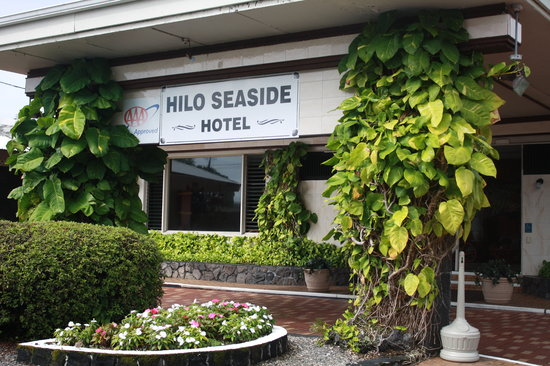 Hilo Seaside Hotel: Hilo Seaside Entrance