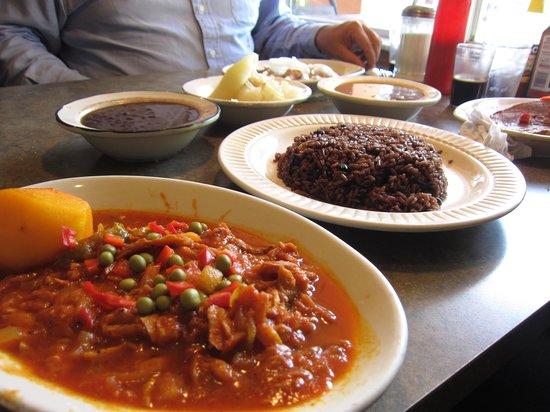 Capdevila At La Teresita: Bacalao (salted cod) with sauce.