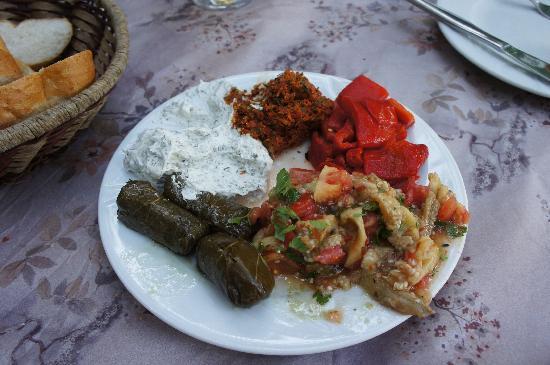 Cinbal Restaurant: Mezze