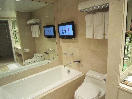 Lowell Hotel: TV that won't tilt