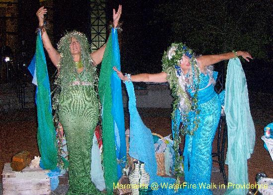 Providence River: Mermaids @ Water Fire Walk - Keep the Flames Burning