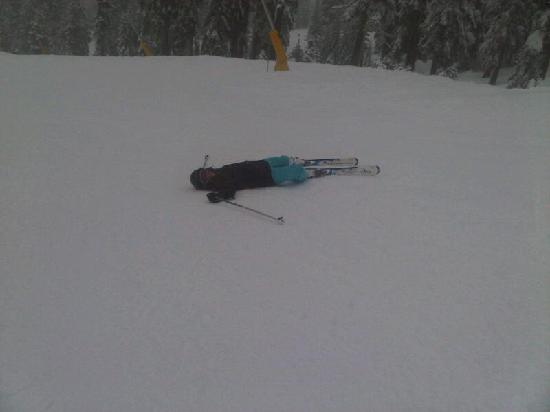 Sugar Bowl Resort: After a hard day of pure skiing