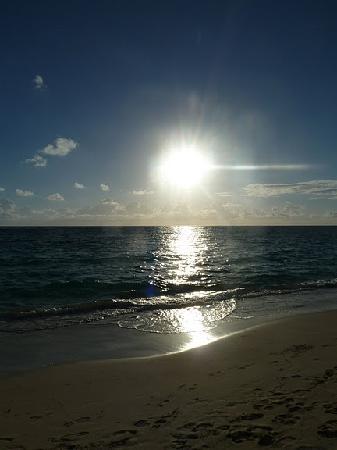 Iberostar  Bávaro Suites: Beautiful sunrise