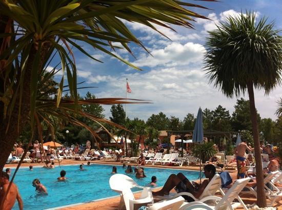 Camping Club Les Sablons: pool complex @ les Sablons