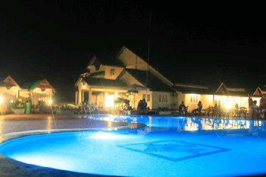 Padmini Resort: poolside