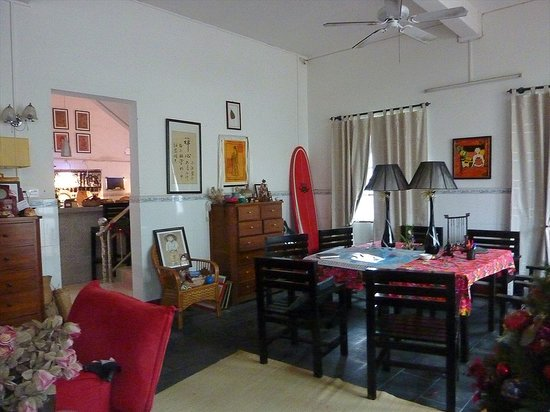 Boao Inn B&B: First floor dining room