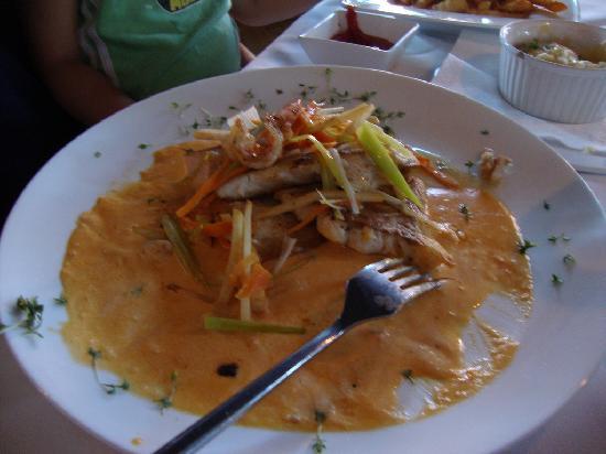 Kromanns Hotel & Restaurant : 4 different fried fish
