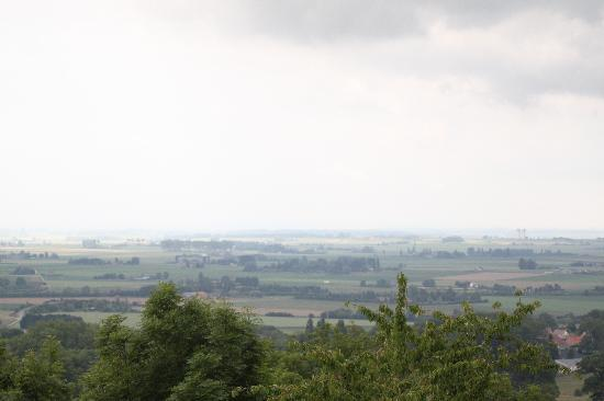 Cassel, France : View on a cloudy day
