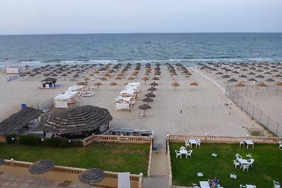 Royal Beach Hotel: from the hotel