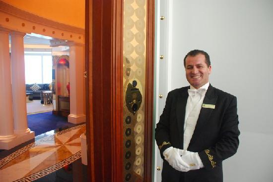 Burj Al Arab Jumeirah : butler