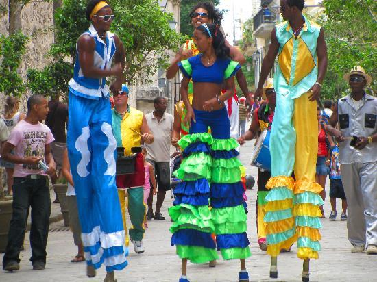 Iberostar Parque Central : Street Carnival Havana