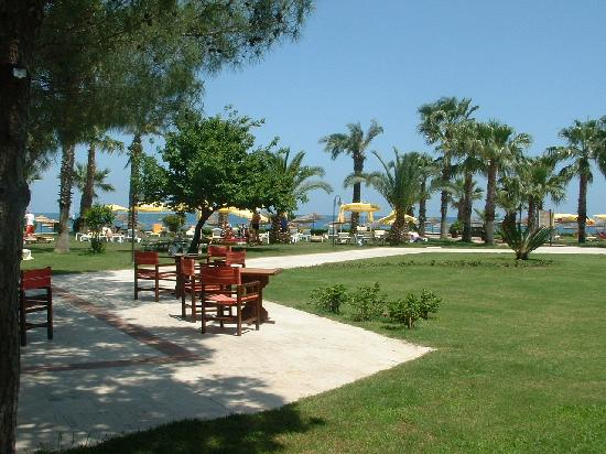 Champion Holiday Village : Looking towards private beach