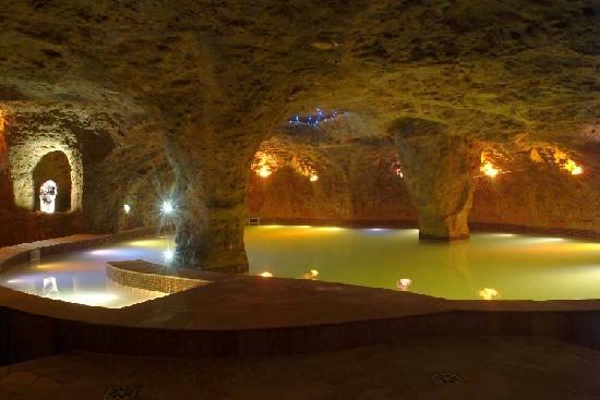 Lopesan Costa Meloneras Resort, Spa & Casino: Floatation pool in spa