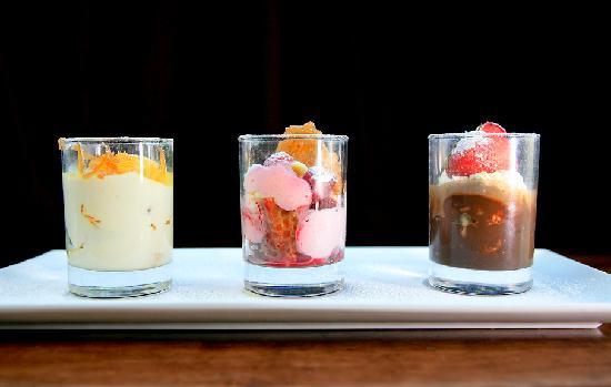 Sapori Restaurant: Dessert Selection.