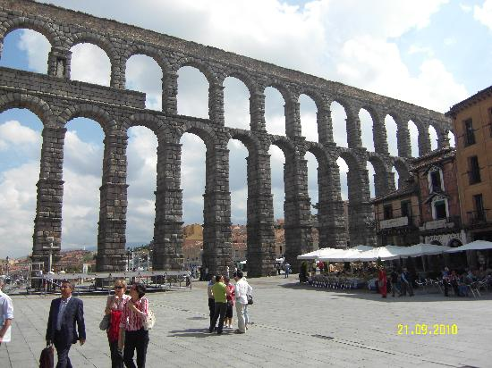 Aquädukt von Segovia: acueducto