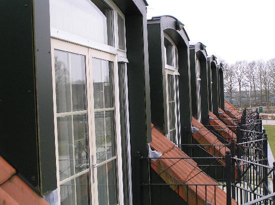 Van der Valk Hotel Groningen Westerbroek: The balcony