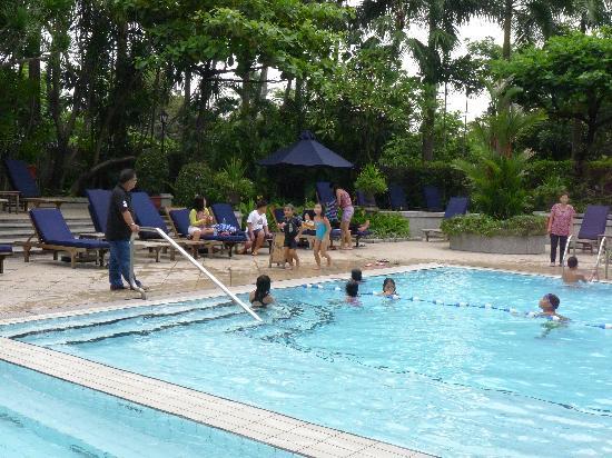 Kids Enjoying The Pool Picture Of The Peninsula Manila Makati Tripadvisor
