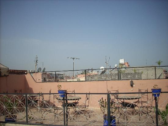 Hotel Imouzzer: vista dalla terrazza