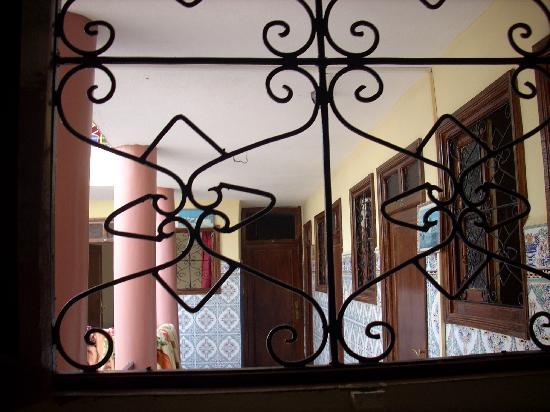 Hotel Imouzzer: finestra della camera