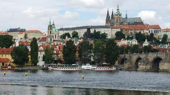 Prague, Czech Republic: moldau
