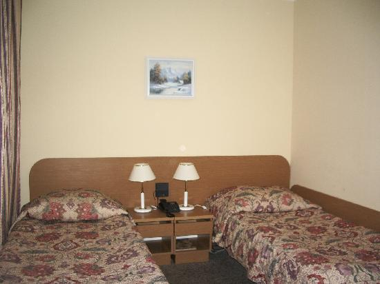 Gromada Hotel: twin room