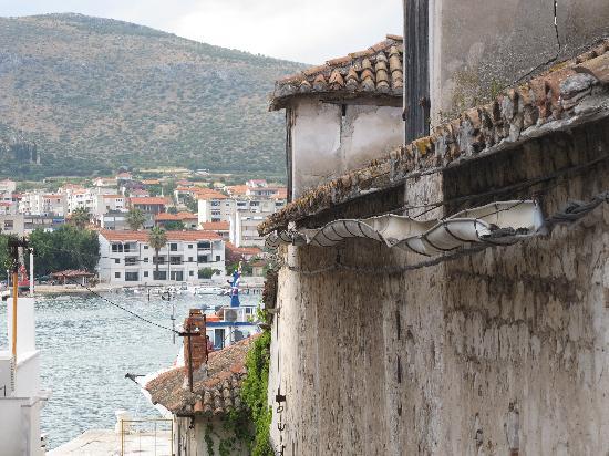 House Klaudija: Dalla terrazza dell'hotel