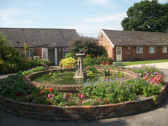 The Coppleridge Inn: The Courtyard