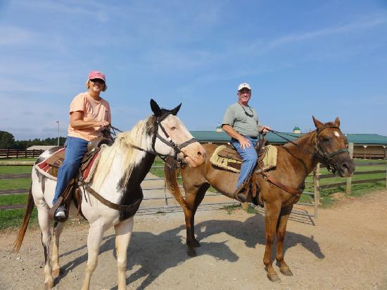 Southern Cross Ranch: Ready to ride