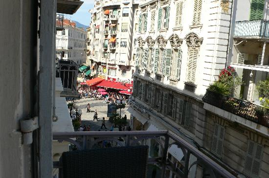 view from the balcony of our room picture of hotel le petit rh tripadvisor com