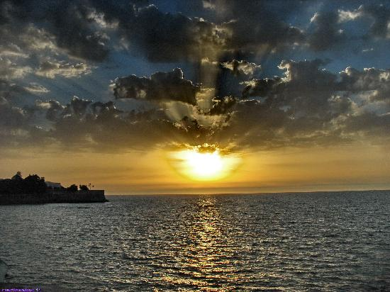Cadiz, إسبانيا: puesta de sol