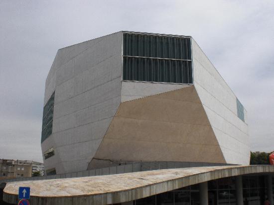 City Sightseeing Porto: Casa de la Música desde el bus turístico