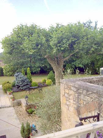 Hostellerie Clau del Loup: View from terrace