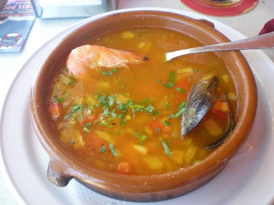 fish soup - Picture of Grill Costa Mar, Puerto Rico - TripAdvisor