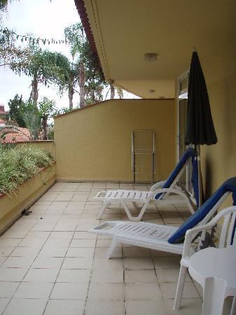 Aparthotel Florasol: Balcony