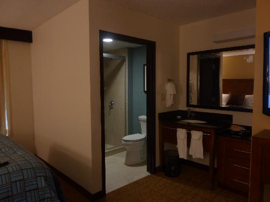 Hyatt Place Long Island East End: Bathroom/dressing area