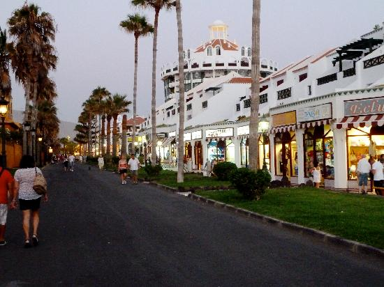 Parque Santiago III: Promenade