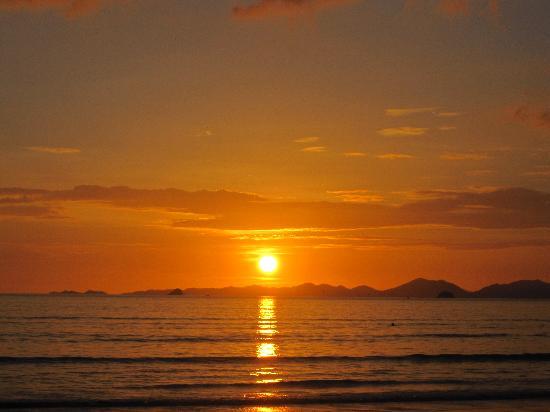 Aonang Goodwill: Sunset from Ao Nang Beach