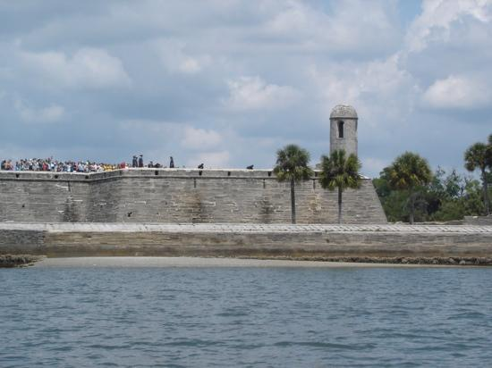 St. Augustine, FL: from the water